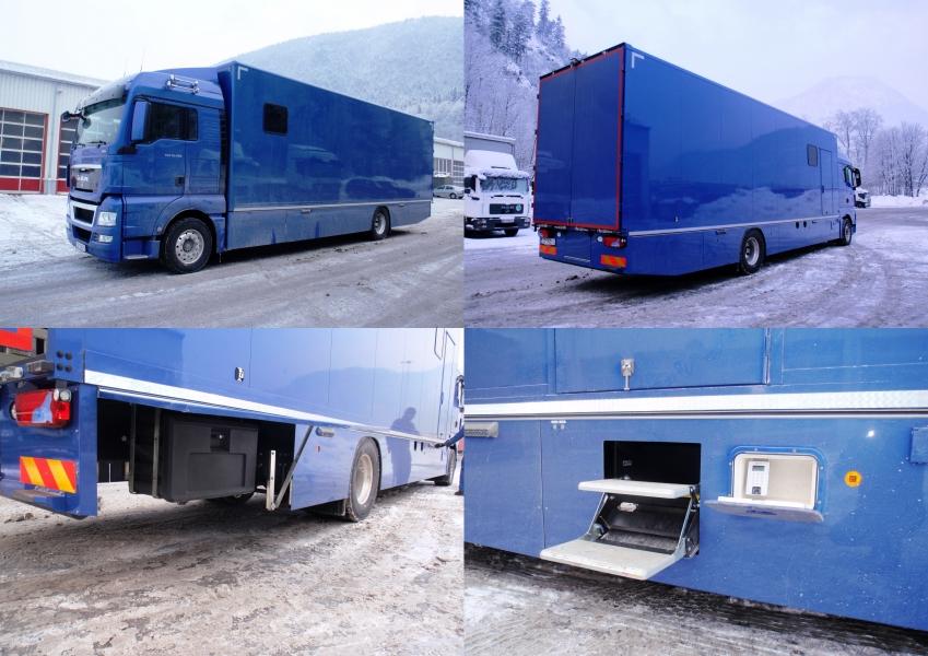 LKW-Spoiler und LKW-Verkleidungen von Rammer Fahrzeugbau ...